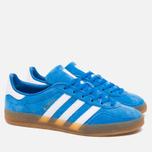 adidas Originals Gazelle Indoor Sneakers Blue Bird/White photo- 1