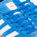 adidas Originals Gazelle Indoor Sneakers Blue Bird/White photo- 5