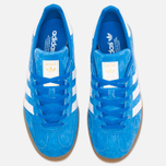 adidas Originals Gazelle Indoor Sneakers Blue Bird/White photo- 4