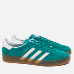 Кроссовки adidas Originals Gazelle Indoor EQT Green/White фото- 1