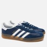 Кроссовки adidas Originals Gazelle Indoor Oxford Blue/White/Gum фото- 1