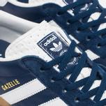 Кроссовки adidas Originals Gazelle Indoor Oxford Blue/White/Gum фото- 5