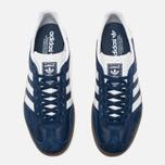 Кроссовки adidas Originals Gazelle Indoor Oxford Blue/White/Gum фото- 4