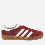 Кроссовки adidas Originals Gazelle Indoor Rust Red/White фото- 0