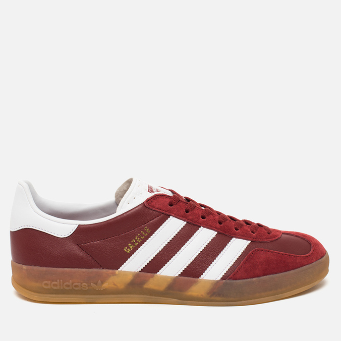 Кроссовки adidas Originals Gazelle Indoor Rust Red/White