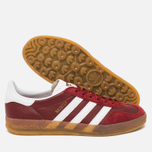 Кроссовки adidas Originals Gazelle Indoor Rust Red/White фото- 2