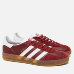 Кроссовки adidas Originals Gazelle Indoor Rust Red/White фото- 1