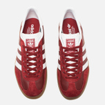 Кроссовки adidas Originals Gazelle Indoor Rust Red/White фото- 4