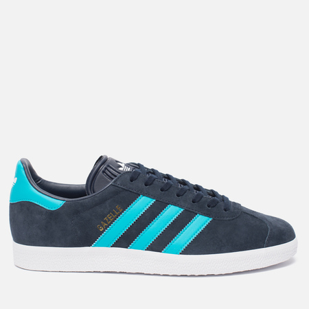 Кроссовки adidas Originals Gazelle Legend Ink/Energy Blue/White