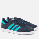 Кроссовки adidas Originals Gazelle Legend Ink/Energy Blue/White фото- 2