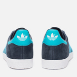 Кроссовки adidas Originals Gazelle Legend Ink/Energy Blue/White фото- 3