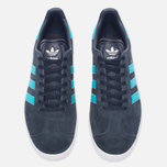Кроссовки adidas Originals Gazelle Legend Ink/Energy Blue/White фото- 4