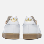 Кроссовки adidas Originals Gazelle Leather Premium White/Gold Metallic фото- 4