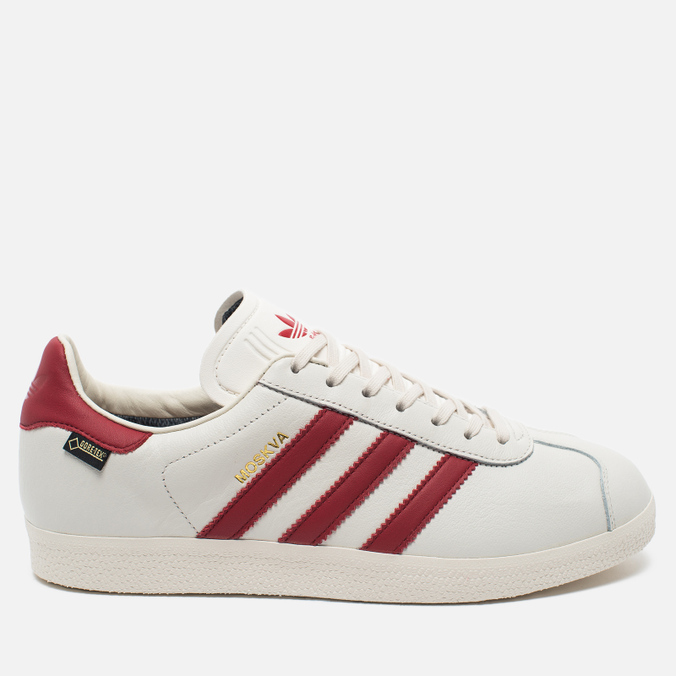 Кроссовки adidas Originals Gazelle Moskva Gore-Tex White/Red
