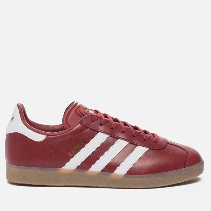Кроссовки adidas Originals Gazelle Mystery Red/White/Gold Metallic
