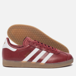 Кроссовки adidas Originals Gazelle Mystery Red/White/Gold Metallic фото- 1