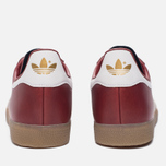 Кроссовки adidas Originals Gazelle Mystery Red/White/Gold Metallic фото- 3