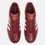 Кроссовки adidas Originals Gazelle Mystery Red/White/Gold Metallic фото- 4