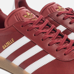 Кроссовки adidas Originals Gazelle Mystery Red/White/Gold Metallic фото- 5