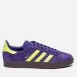 Кроссовки adidas Originals Gazelle Unity Purple/Solar Yellow/Gum фото- 0