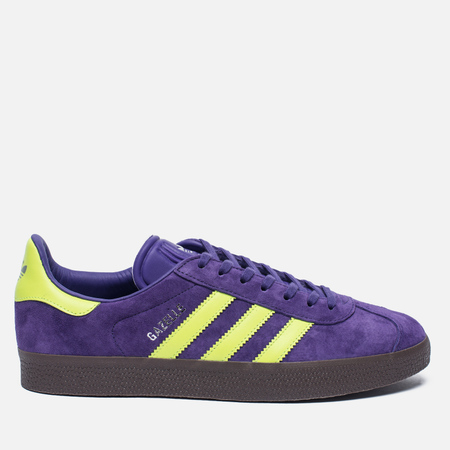 Кроссовки adidas Originals Gazelle Unity Purple/Solar Yellow/Gum