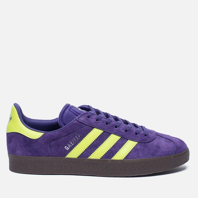 Кроссовки adidas Originals Gazelle Unity Purple/Solar Yellow/Gum