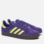 Кроссовки adidas Originals Gazelle Unity Purple/Solar Yellow/Gum фото- 1