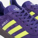 Кроссовки adidas Originals Gazelle Unity Purple/Solar Yellow/Gum фото- 5