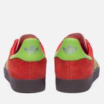 Кроссовки adidas Originals Gazelle Core Red/Semi Solar Green/Gum фото- 3