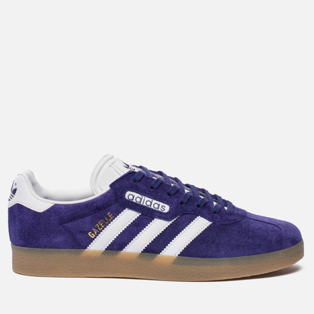 Кроссовки adidas Originals Gazelle Super Energy Ink/White/Gold Metallic