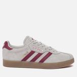 Кроссовки adidas Originals Gazelle Super Grey One/Mystery Rubin/Gold Metallic фото- 0