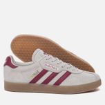 Кроссовки adidas Originals Gazelle Super Grey One/Mystery Rubin/Gold Metallic фото- 2