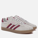 Кроссовки adidas Originals Gazelle Super Grey One/Mystery Rubin/Gold Metallic фото- 1