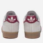 Кроссовки adidas Originals Gazelle Super Grey One/Mystery Rubin/Gold Metallic фото- 3