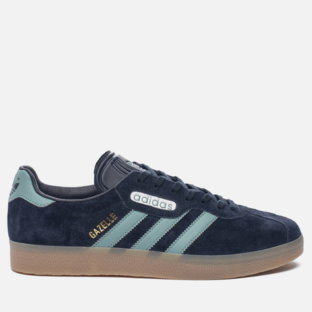 Кроссовки adidas Originals Gazelle Super Night Navy/Vapste/Gold Metallic