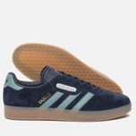Кроссовки adidas Originals Gazelle Super Night Navy/Vapste/Gold Metallic фото- 1