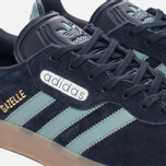 Кроссовки adidas Originals Gazelle Super Night Navy/Vapste/Gold Metallic фото- 5