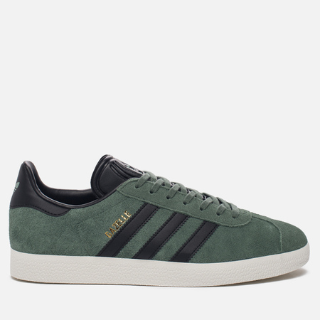 Кроссовки adidas Originals Gazelle Trace Green/Core Black/Gold Metallic