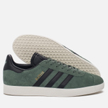 Кроссовки adidas Originals Gazelle Trace Green/Core Black/Gold Metallic фото- 1