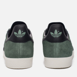 Кроссовки adidas Originals Gazelle Trace Green/Core Black/Gold Metallic фото- 3