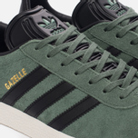 Кроссовки adidas Originals Gazelle Trace Green/Core Black/Gold Metallic фото- 5