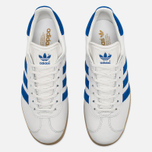 Кроссовки adidas Originals Gazelle Vintage White/Blue фото- 4