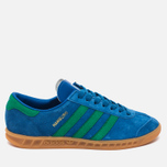 Кроссовки adidas Originals Hamburg Bern Lush Blue/Green/Gum фото- 0