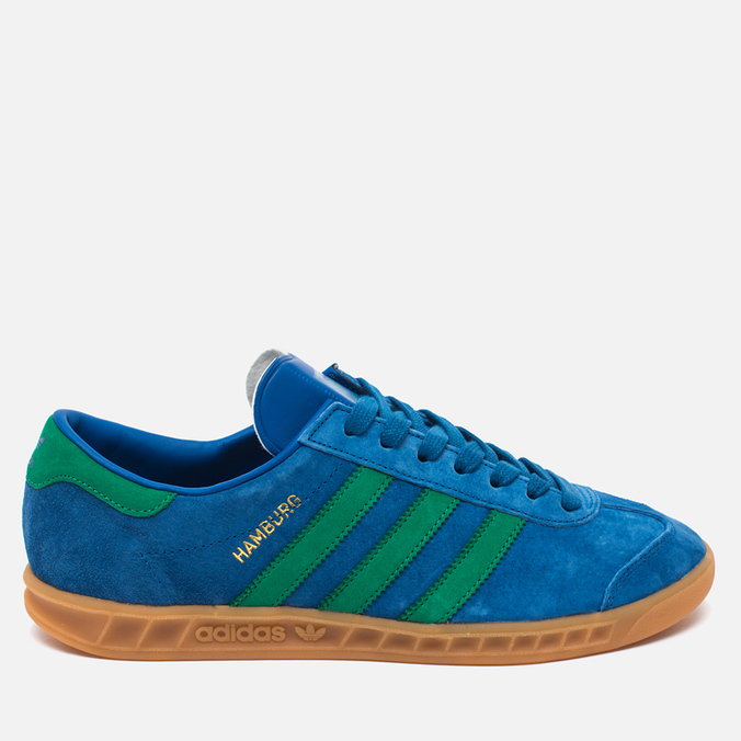 Кроссовки adidas Originals Hamburg Bern Lush Blue/Green/Gum