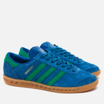 Кроссовки adidas Originals Hamburg Bern Lush Blue/Green/Gum фото- 1