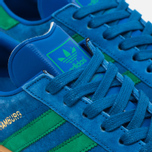 Кроссовки adidas Originals Hamburg Bern Lush Blue/Green/Gum фото- 5