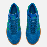 Кроссовки adidas Originals Hamburg Bern Lush Blue/Green/Gum фото- 4