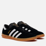 Кроссовки adidas Originals Hamburg Black/White/Gum фото- 0