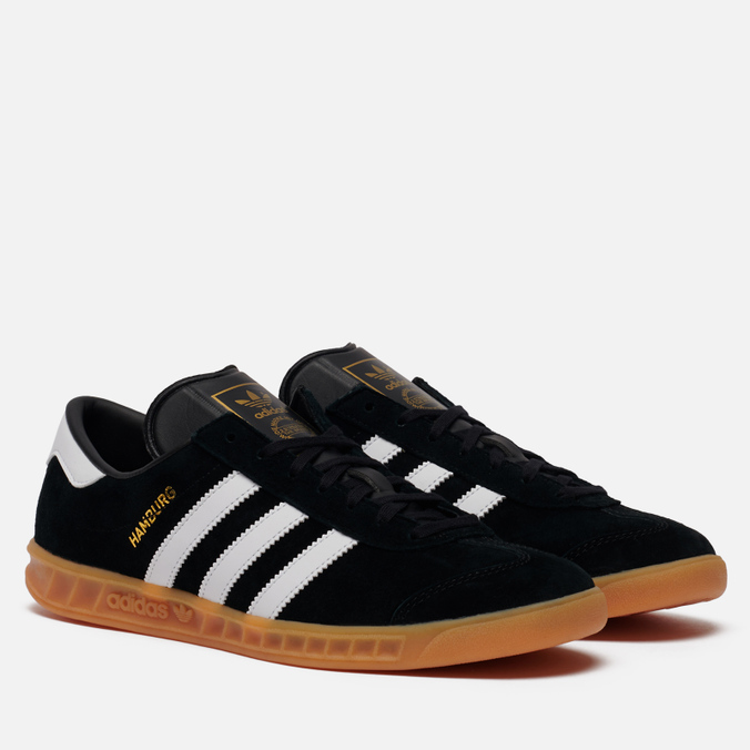 Кроссовки adidas Originals Hamburg Black/White/Gum