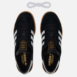 Кроссовки adidas Originals Hamburg Black/White/Gum фото- 2